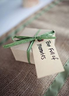 A Few Wedding Favor Questions You Might Be Curious About