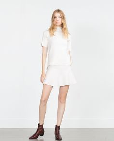 SKATER SKIRT - View all - Knitwear - WOMAN | ZARA United States
