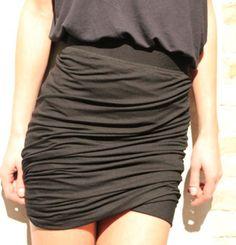 Moss Copenhagen draped skirt #fashion Draped Skirt, Copenhagen, Casual Shorts, Caffeine, Skirt Fashion, My Style, Skirts, Outfits, Clothes