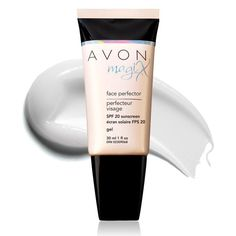 """SALE $6.99   Avon's exclusive HD Finish Complex provides the """"magic"""" in this colorless skin-perfector.A revolutionary colorless gel-to-powder formula provides invisible coverage for a naturally flawless finish and keeps skin looking naturally matte for 7 full hours. The """"magic"""" behind magiX is Avon's patent-pending High Definition Finish Complex, an exclusive complex that works to counteract shine and visibly smooth the look of fine lines and pores!"""