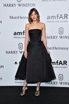 Dakota Johnson in Christian Dior #amfARGala