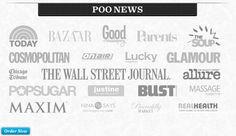 They have gotten a ridiculous amount of press - and what do they call it Poo News! Poo Pourri, Wall Street Journal, Marketing, Sayings, News, Blog, Lyrics, Blogging, Quotations