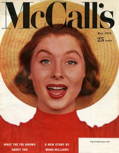 McCall's May 1955 / Suzy Parker