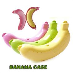 Cute Banana Fruit Fresh Protector Guard Container Storage Case Lunch Trip Outdoor Box Storage Boxes For School Kids US $3.50