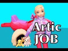 FROZEN PLAY-DOH Barbie I CAN BE Disney Elsa Arctic Vet Rescuer Parody Toys AllToyCollector