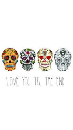 Love You Til The End #iPhone #wallpaper