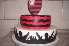 Resultado de imagem para bolo flamengo