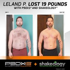 Leland lost 19 pounds with P90x3 and Shakeology. How much can you lose? https://www.teambeachbody.com/checkout/-/bbcheckout/challengepack?TRACKING=SOCIAL_SHK_PI
