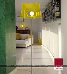 Fluo Floor Lamp - Almerich  Shop Online At http://www.interior-deluxe.com/fluo-floor-lamp-p9058.html  #ModernLighting
