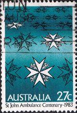 Australia 1983 St. John Ambulance Fine Used SG 888 Scott 871  Other Australian Stamps HERE