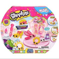 Moose Toys Beados Shopkins Season 3 Activity Pack, Fashion, Multicolor