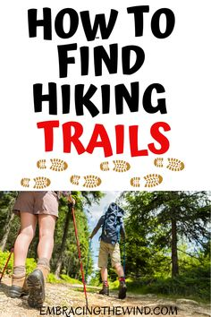Want to take a hike but don't have a clue where to go? You've got to read this! Find out about the best hiking trail apps, websites, and my other sources to find hiking trails.