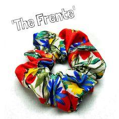 Hair Scrunchie 80s 90s Hair Tie 'The Frente' by FannyAdamsVC