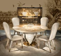 Make your home the most beautiful this season with haute couture furniture from…