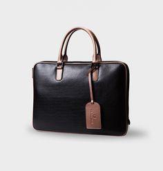 Leather Messenger Bag Laptop messenger bag, leather computer bag.