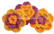 Flores tejida a crochet!