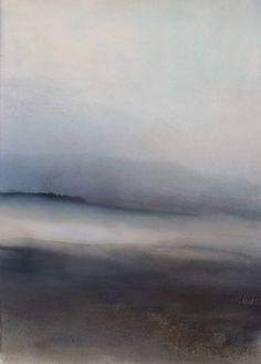 "Saatchi Art Artist Sabrina Garrasi; Painting, ""The Farewell / Abstract Landscape"" #art"