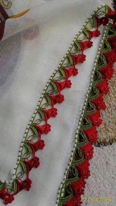 36 Different Red Crochet Needlework Models Cracking Görümce – My CMS Crochet Motif Patterns, Crochet Lace Edging, Crochet Borders, Baby Knitting Patterns, Crochet Yarn, Crochet Flowers, Crochet Doilies, Crochet Classes, Crochet Videos