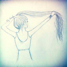 My own sketch inspired by Kristina Webb   ~LilyRoseV~   Follow me on Instagram!  @lilyrose_art
