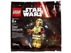 LEGO Star Wars The Force Awakens C-3PO Exclusive Figure!! New/Sealed! 5002948  #LEGO