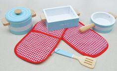 Indigo Jamm Pots 'n Pans cooking set.