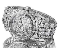Chopard $1.5 Million Happy Sport Watch is Packed with Diamonds and Gold @}-,-;--