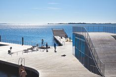 JDS, Urban Agency, Faaborg Harbour Bath and Blue Base, Denmark, 2014