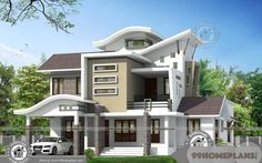 Modern houses pictures in indian modern house design using main hall door design in houses and . modern houses pictures in indian Modern Bungalow, Bungalow House Design, House Front Design, Modern House Design, Door Design, Indian Home Design, Kerala House Design, Contemporary Architecture, Architecture Design