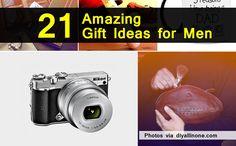 21 Amazing Gift Ideas For Men