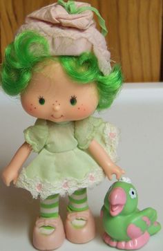 Strawberry Shortcake LIME CHIFFON doll & by EastEndTreasures, $11.95
