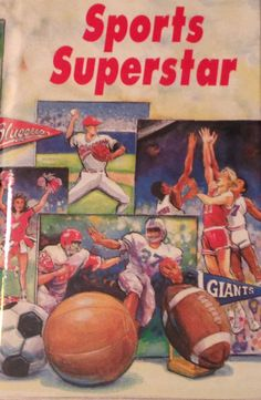 Children's Books Personalized  Sports Superstar by MyPersonalStory