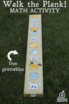pirate math activity-walk the plank-skip counting by tens wi.- pirate math activity-walk the plank-skip counting by tens with free pirate theme… pirate math activity-walk the plank-skip counting by tens with free pirate theme printables -