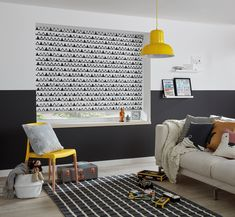 The contrasting black and white of this light filtering roller blind will capture your heart and the focus of the room. As this upscale blind filters harsh sunlight, it allows a soft, diffused glow to shine through the contemporary geometric pattern of triangles. Ideal for any room that needs light filtering and a pop of rugged fun.  #windowblinds #home #homeinspo #homedecor #homesweethome #interiorstyle #interiordesign #meblinds #blackandwhite #blackandwhiteblinds Double Roller Blinds, Black Blinds, Interior Styling, Interior Design, Woodland Nursery Decor, Blinds For Windows, Animal Nursery, Home And Living, Living Rooms