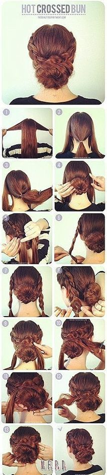Get the updo of your dreams.