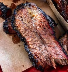 How to Smoke the Best Barbecue Brisket Of Your Life Want to try your hand at smoked brisket this Labor Day Weekend? Learn everything you need to know about making perfect BBQ brisket, courtesy of Burt Bakman. Brisket Marinade, Beef Brisket Recipes, Bbq Brisket, Smoked Beef Brisket, Traeger Recipes, Smoked Meat Recipes, Grilling Recipes, Traeger Brisket, Pork Recipes