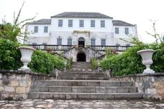 The haunted Rose Hall Great House in Montego Bay, Jamaica