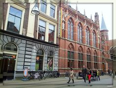 The library in Zwolle