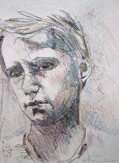 Hetty Van De Zande -- Embroidery Artwork