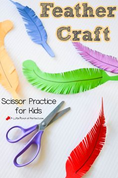 We made some beautiful brightly colored feathers to practice scissor skills and fine motor control. We have been learning about feathers and plan on using them for some Native American crafts for Thanksgiving, but they are so lovely you could make them any time of year. Little Tiger has been teaching Little Dragon how to …