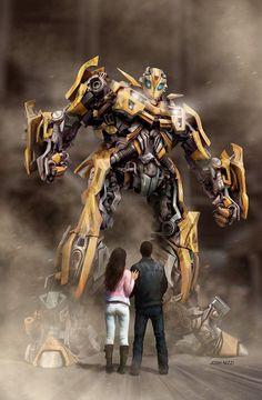 12 Belíssimas ilustrações dos Transformers:
