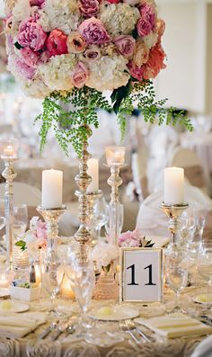 Wedding Centerpiece ~ K. Holly Photography // Floral Design: Modern Day Floral And Event Design