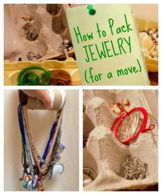 How to pack Jewelry for a move - the Top 50 Moving Hacks and Tips - Ideas to Make Your Move  Easier on Frugal Coupon Living.