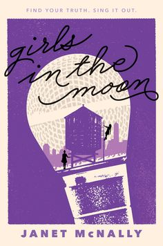 Cover Reveal! GIRLS IN THE MOON by Janet McNally! (Plus ARC giveaway!) | Pub(lishing) Crawl