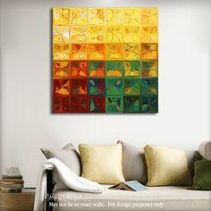 Tile Art 3, 2015. Amber Glass Flow. Limited Edition Art