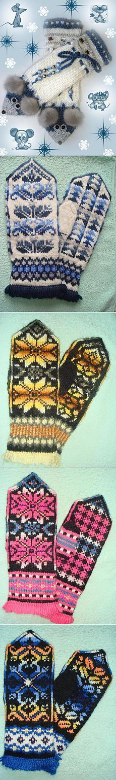 58 ideas for crochet patterns fingerless gloves Fingerless Gloves Crochet Pattern, Crochet Mittens, Mittens Pattern, Fingerless Mittens, Knitted Gloves, Knit Crochet, Fair Isle Knitting, Knitting Socks, Knitting Stitches