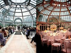 breathtaking ceremony + reception space.