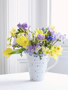 Betty Medium Pitcher: £31.00 http://www.sophieconran.com/kitchen-dining/sophie-blue-collection/betty-medium-pitcher Sophie Blue China