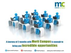 A bright career in the field of java  programming. Register for free demo  at www.java.meritcampus.com