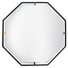Italian Floating Mirror | From a unique collection of antique and modern wall mirrors at http://www.1stdibs.com/furniture/mirrors/wall-mirrors/