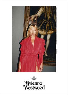 Vivienne Westwood Gold Label Spring 2013 - Kate Moss photographed by Juergen Teller Kate Moss, Vivienne Westwood, Juergen Teller, Kunsthistorisches Museum, Inspiration Mode, Rebecca Taylor, Lady In Red, Editorial Fashion, Beautiful People